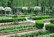 Огород во французском стиле