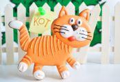 Песочное печенье с корицей Сладкий кот