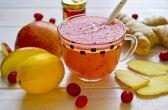 Витаминный коктейль – фруктовый смузи с клюквой