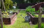 Огород перед сменой ранних культур