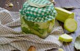 Консервированные кабачки с укропом и чесноком