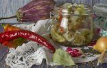 Закуска Баклажаны как грибы
