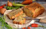 Грибной пирог с курицей и овощами