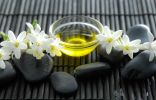Цветки туберозы и масло