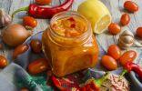 Кисло-сладкий соус из черри с лимоном и чили