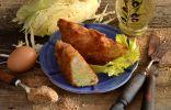 Вегетарианский шницель из молодой капусты