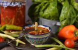 Стручковая фасоль в томате на зиму