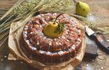Пирог с грушами и яблоками — осенний десерт к чаю