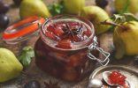 Варенье из груш и слив — самое простое в приготовлении