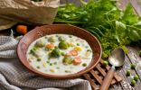 Молочный суп с овощами — необычный, но очень вкусный!