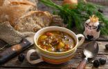 Быстрый гороховый суп с говядиной