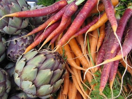 Морковь и Артишоки