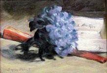 Фиалка — цветок императрицы Жозефины и эмблема Наполеонидов.