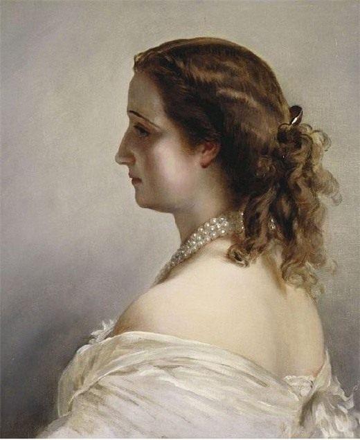 Франц Хавьер Винтерхальтер, Портрет императрицы Евгении.