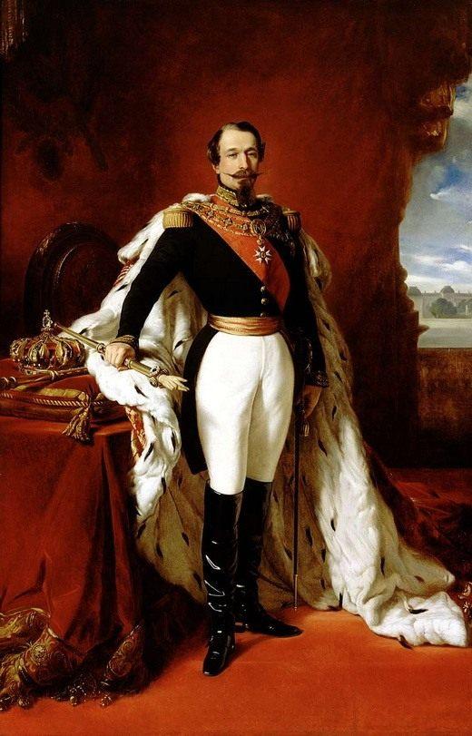 Франц Ксавер Винтерхальтер, Император Наполеон III