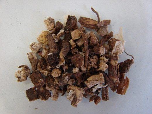 Сушёный корень одуванчика