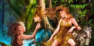 Эльфы и лилия