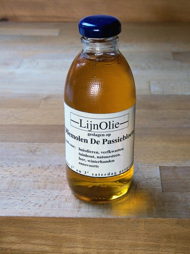 Льняное масло (Linseed oil)