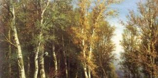 И. И. Шишкин - «Лес перед грозой» 1872г