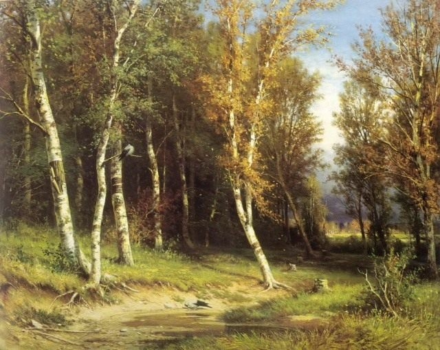 И. И. Шишкин «Лес перед грозой». 1872г