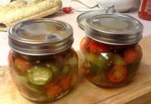 Рецепты овощного ассорти