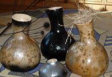 Конкурс: Декоративные вазы из тыквы