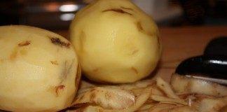 Пятна на картофеле