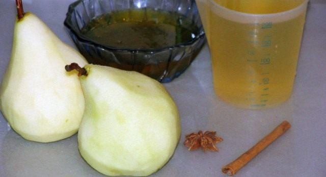 Ингредиенты для рецепта «Медовые груши»