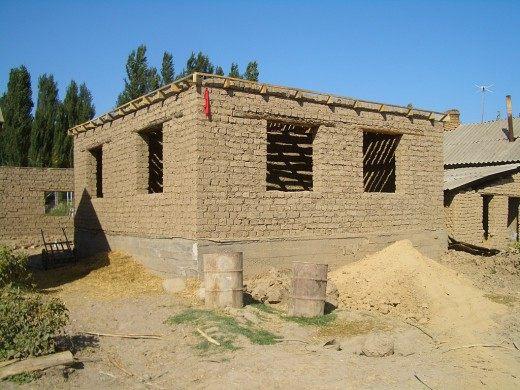 Саманный дом своими руками от и до 803
