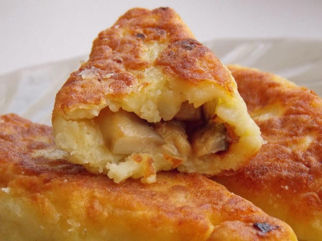 Зразы картофельные с грибами - пошаговый рецепт с фото на ...