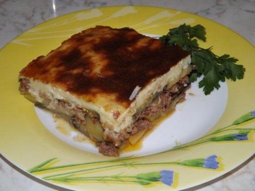Греческая «Мусака» или «Блюдо пастухов»