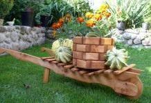 Садовая архитектура из дерева своими руками
