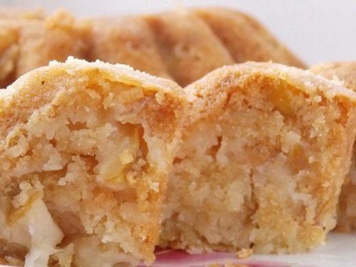 Манник на кефире с яблоками рецепт