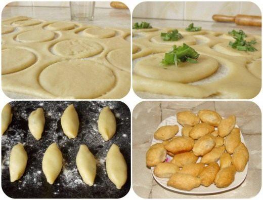 Слоёные пирожки