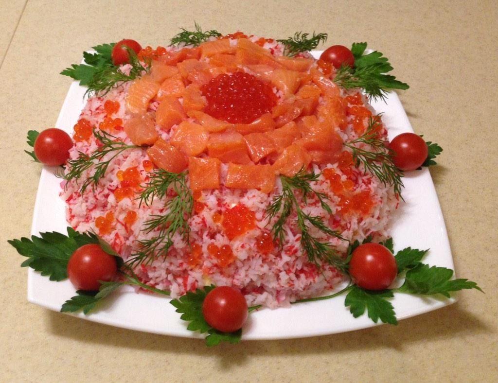 Салат «Самоцветы»
