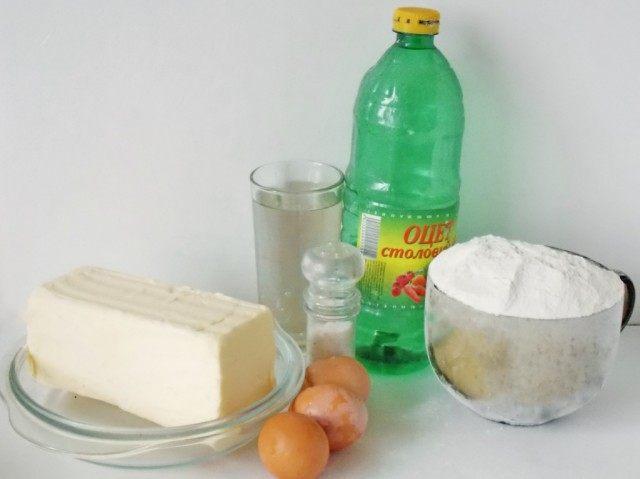 Produtos para massa folhada