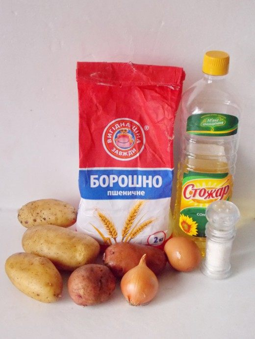Продукты для дерунов