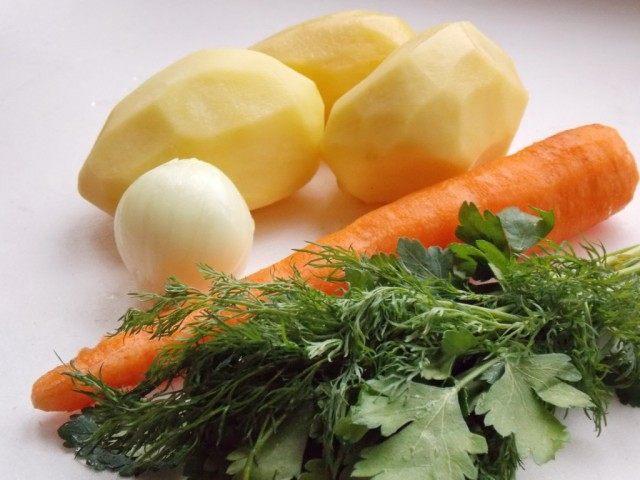 Очистим овощи