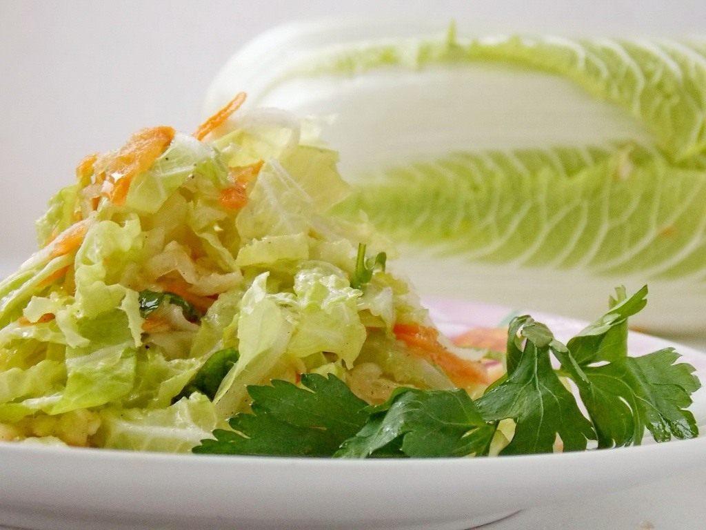 Рецепты салатов из пекинской капусты с