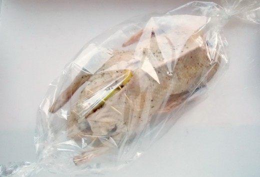 Упакуем Утку в рукав для запекания