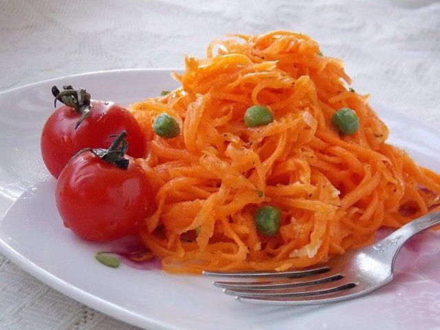 Салат из морковки по-корейски