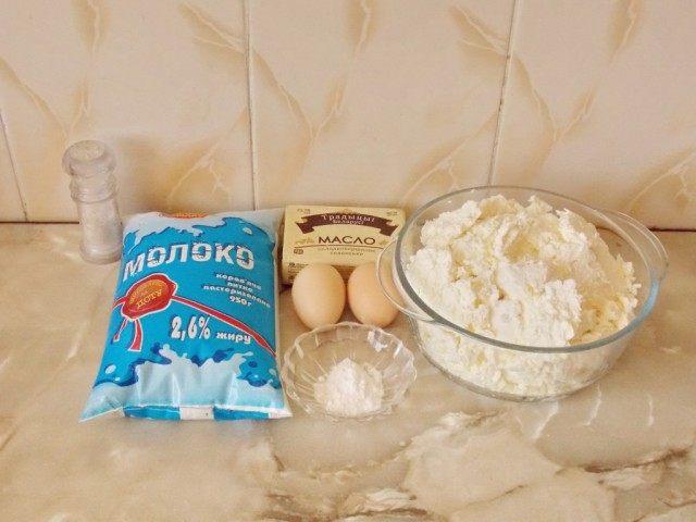 Ингредиенты для приготовления домашнего сыра