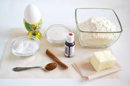 Ингредиенты для печенья «Сладкий кот»