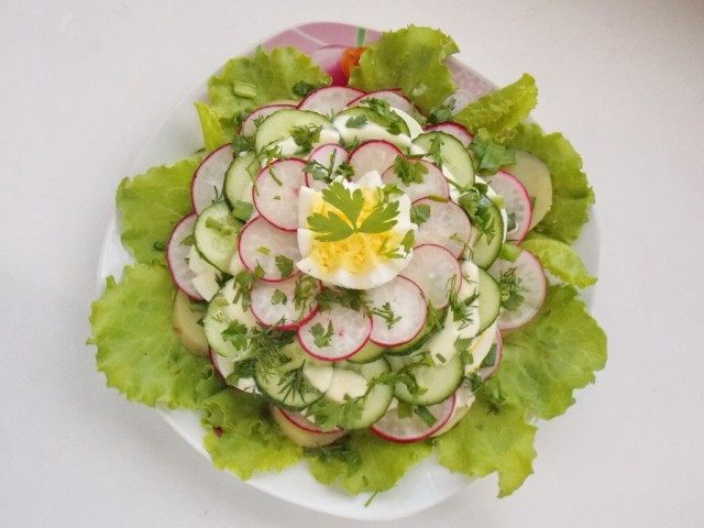 Украсим салат
