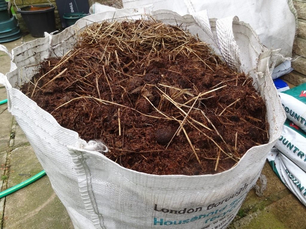 Конский навоз как удобрение как применять осенью на огороде