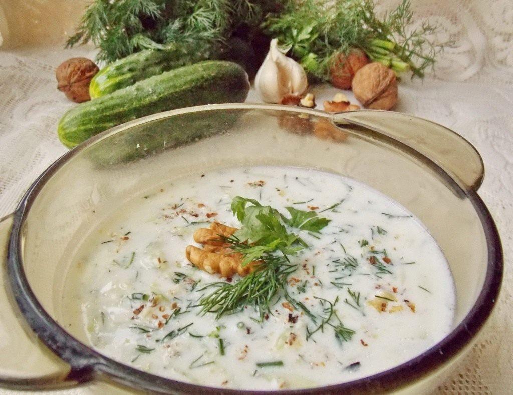 холодный суп таратор классический рецепт