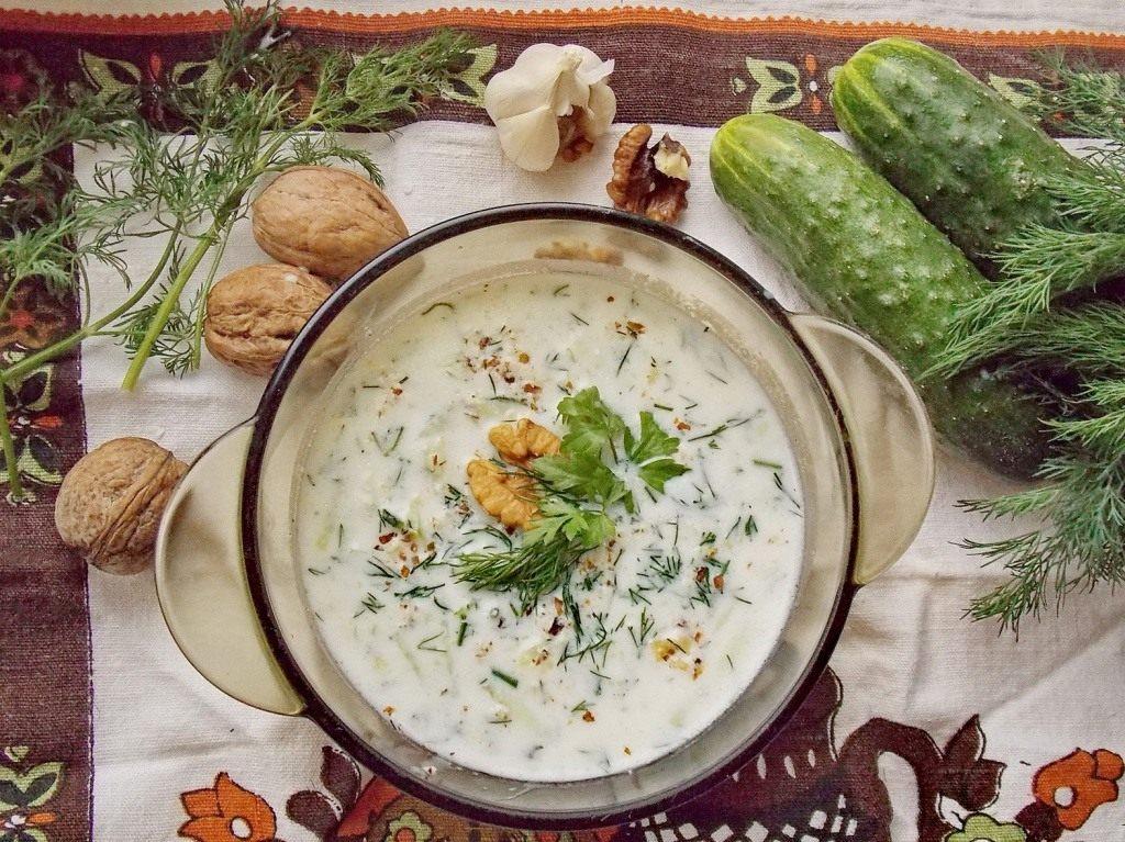 рецепт супа таратор