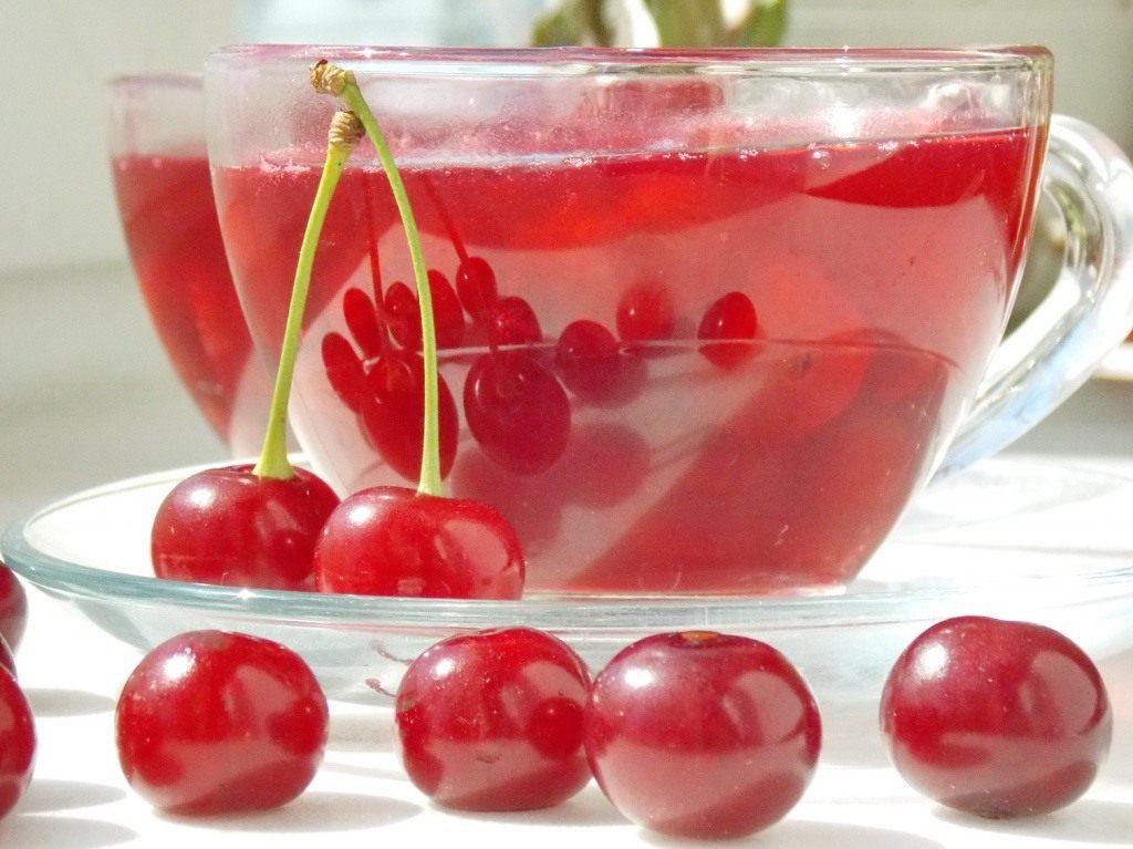 Как сварить вишневый кисель