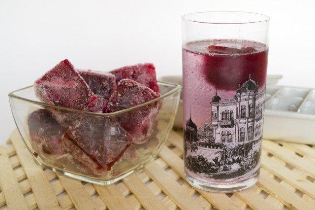 Фруктовый лёд из ягодного жмыха