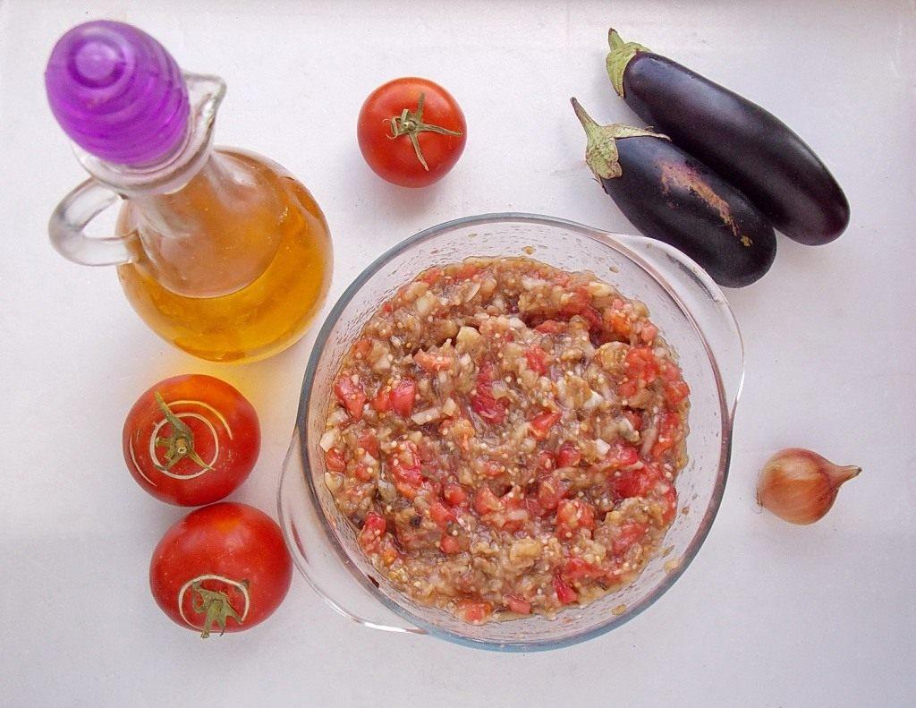 Икра баклажанная рецепт пошагово